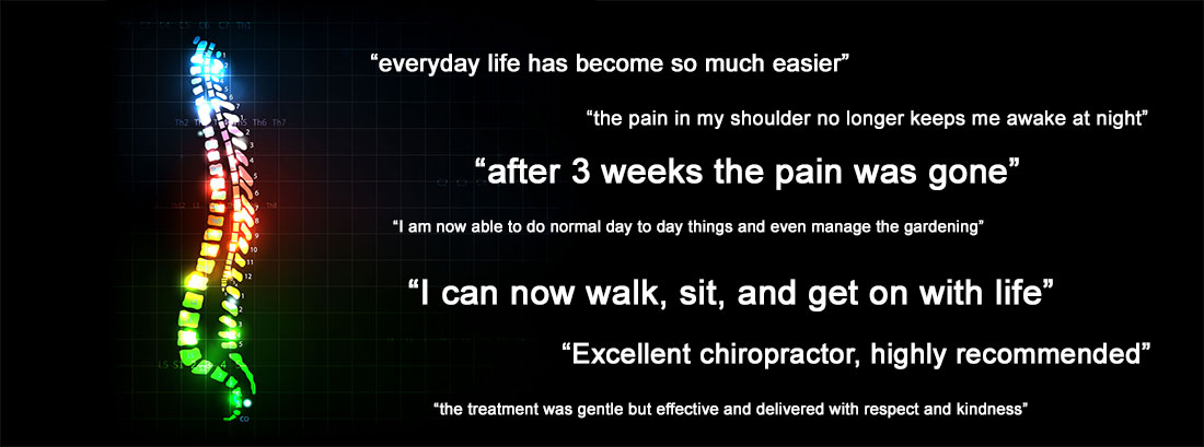 Read our fabulous reviews at Bovey Tracey Chiropractic Clinic Devon